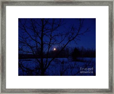 Jan Full 2 Framed Print by The Stone Age