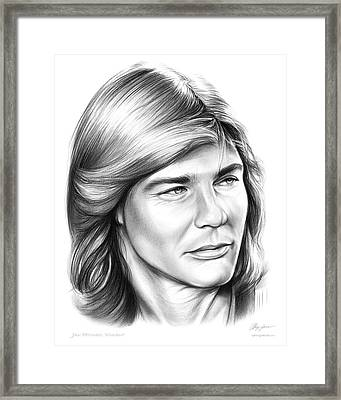 Jan Michael Vincent Framed Print