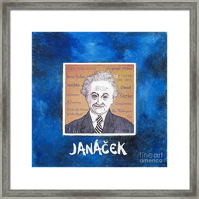 Janacek Framed Print by Paul Helm