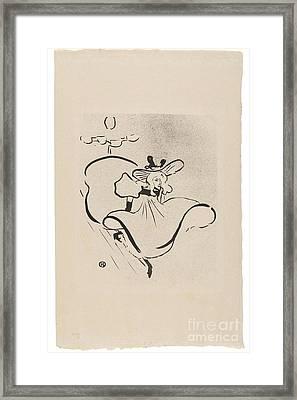 Jane Avril Framed Print by MotionAge Designs