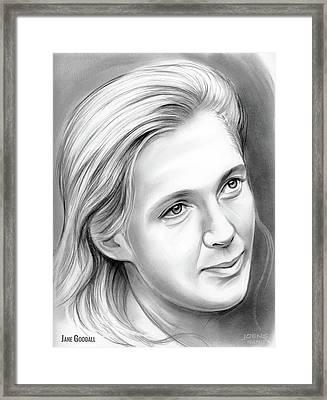 Jane Goodall Framed Print