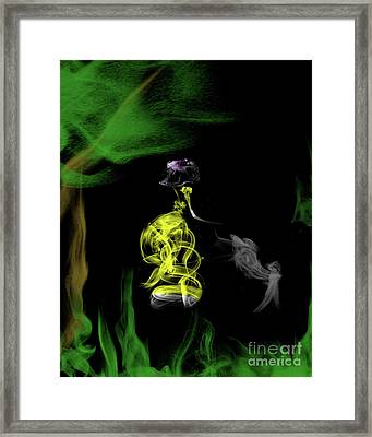Jane Of The Jungle Framed Print