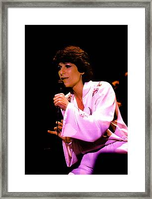 Jane Olivor Framed Print by Mike Flynn