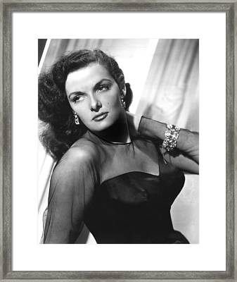 Jane Russell, 1948 Framed Print