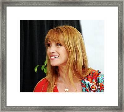 Jane Seymour Framed Print