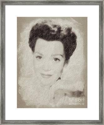 Jane Wyman, Actress Framed Print