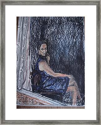 Janela Framed Print by Ana Picolini