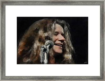 Janis Framed Print by Sergey Lukashin