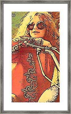 Janis Joplin Framed Print