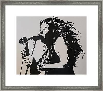 Janis Framed Print by Steven White