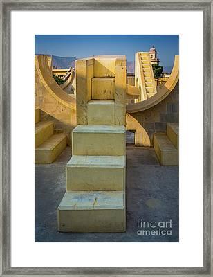 Jantar Mantar Stairs Framed Print