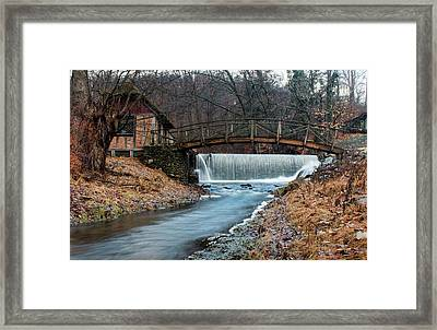 January Morning At Gomez Mill #1 Framed Print by Jeff Severson