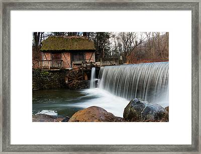 January Morning At Gomez Mill #2 Framed Print by Jeff Severson