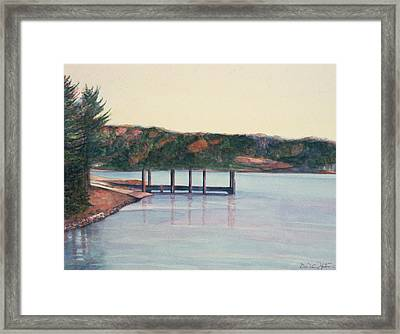 January Reflections Framed Print