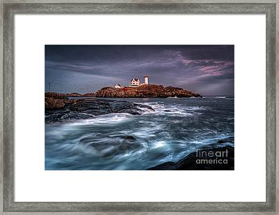January's End Framed Print by Scott Thorp