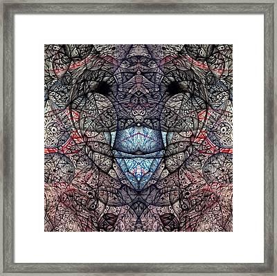 Janus Entanglement Framed Print