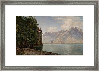 Janus La Cour Framed Print