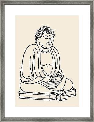 Japan: Grand Buddha Framed Print by Granger