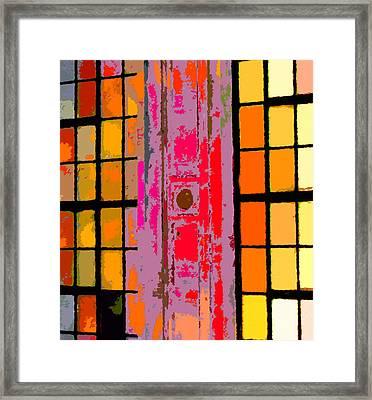 Japan House Framed Print