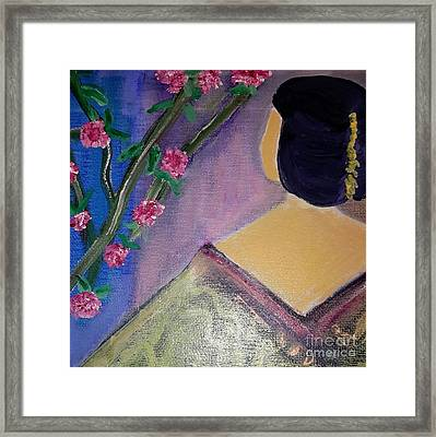 Japan Princese Framed Print