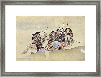 Japan: Samurai, 1281 Framed Print