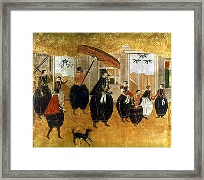 Japan: St. Francis Xavier Framed Print by Granger