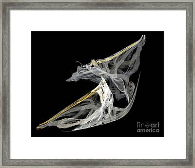 Japanese Aikido Warriors Framed Print