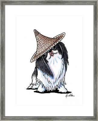 Japanese Chin  Framed Print