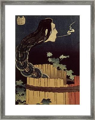 Japanese Ghost Framed Print