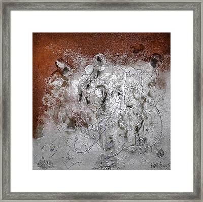 Framed Print featuring the painting Japanese Impressions#2 by Karo Evans