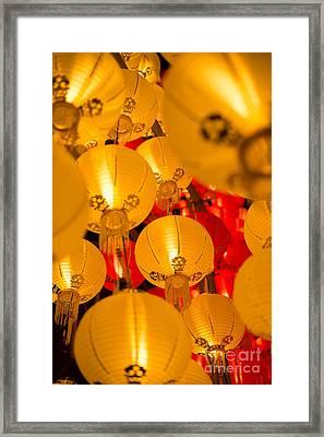 Japanese Lantern 3 Framed Print