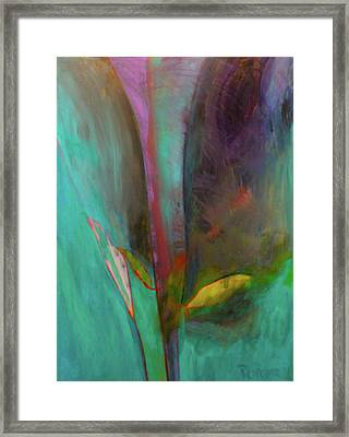 Framed Print featuring the painting Japanese Longstem  by Iconic Images Art Gallery David Pucciarelli