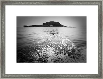 Japanese Sea #1531 Framed Print