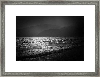 Japanese Sea #1940 Framed Print