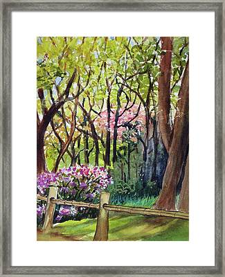 Japanese Tea Garden Framed Print