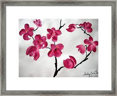 Japanese Tree Framed Print