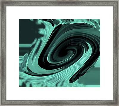 Japanese Waves Framed Print