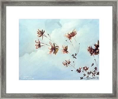 Japonicas Framed Print