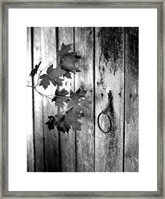 Japton Door Framed Print by Curtis J Neeley Jr