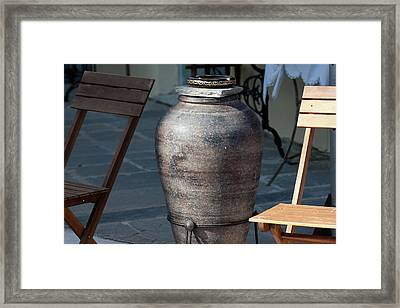 Framed Print featuring the photograph Jar by Bruno Spagnolo