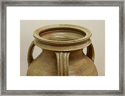 Jar Top - Handles Framed Print