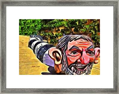 Jarareco - Da Framed Print by Leonardo Digenio