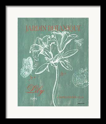 Texture Floral Drawings Framed Prints