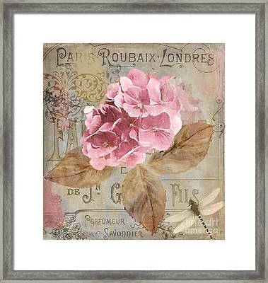 Jardin Rouge II Framed Print by Mindy Sommers