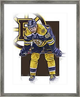 Jaromir Jagr Boston Bruins Oil Art Series 4 Framed Print