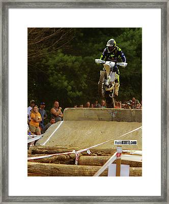 Jarvis Maintains 2nd Place Framed Print
