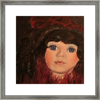 Framed Print featuring the painting Jasmin by Jane Autry