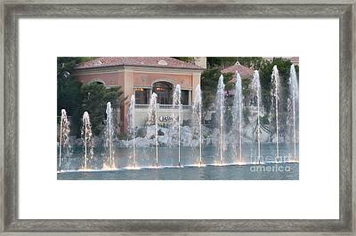 Jasmine Restaurant View Framed Print
