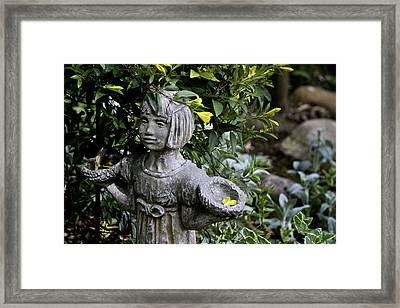 Jasmine Statue Framed Print