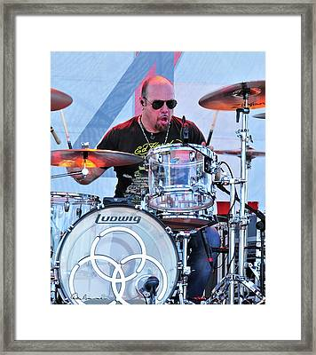 Jason Bonham Framed Print